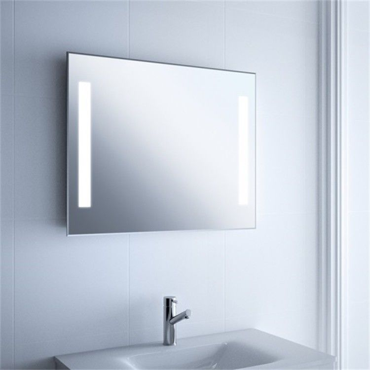Large Long Illuminated Lighted Bathroom Mirror Wall Mount For Home And Hotel Project